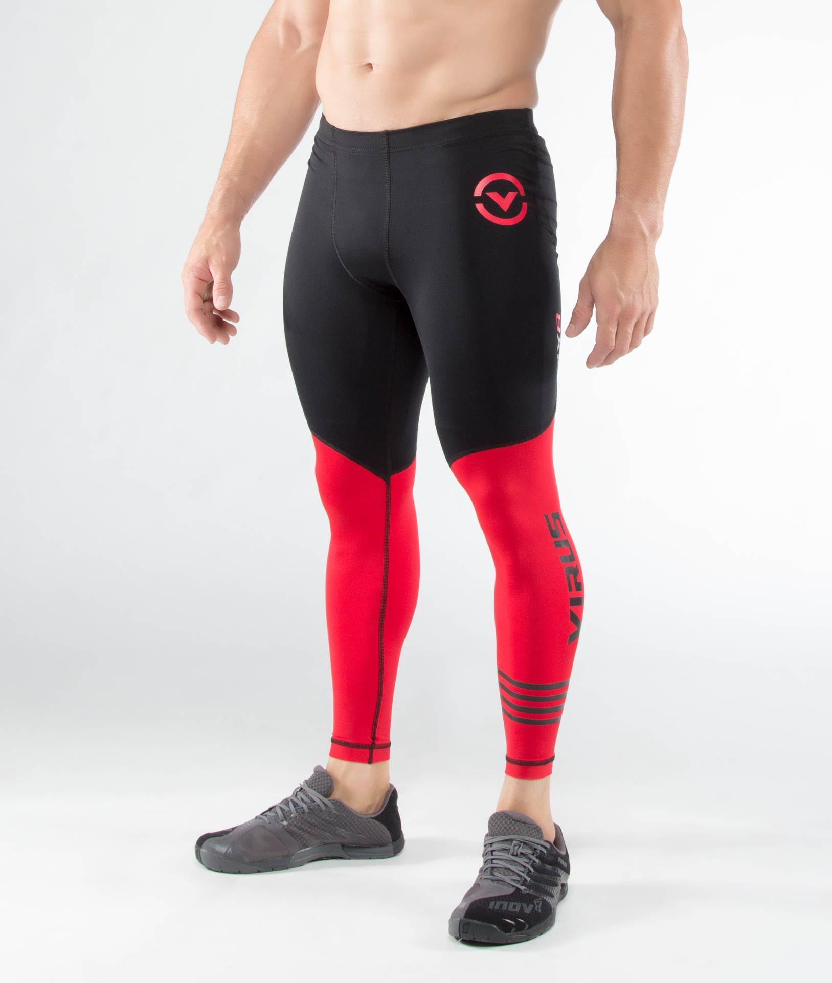 RX8男子涼爽緊身機能長褲