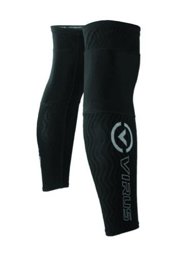UCo25涼爽生物能波浪膠條長膝蓋套