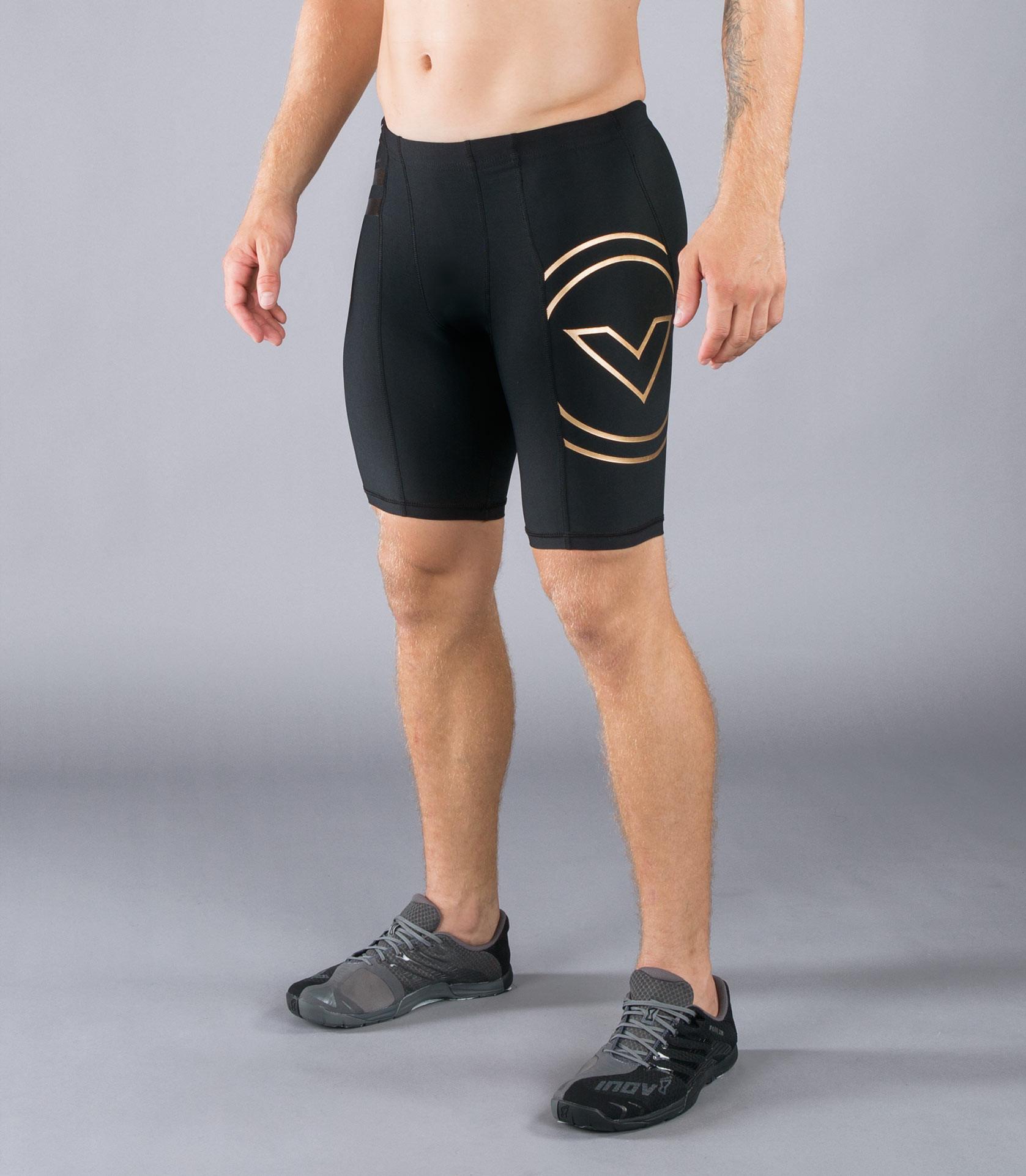 Au11男子生物機能緊身V2短褲