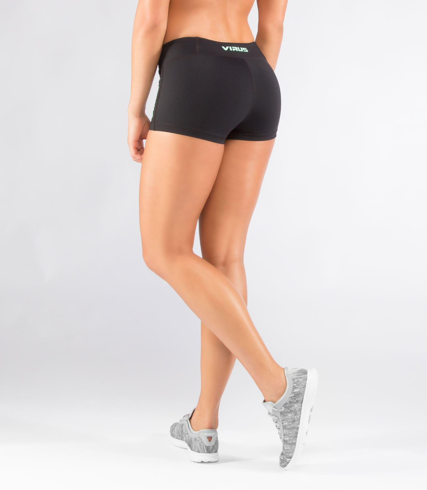 ECo22女子涼爽DATA訓練短褲